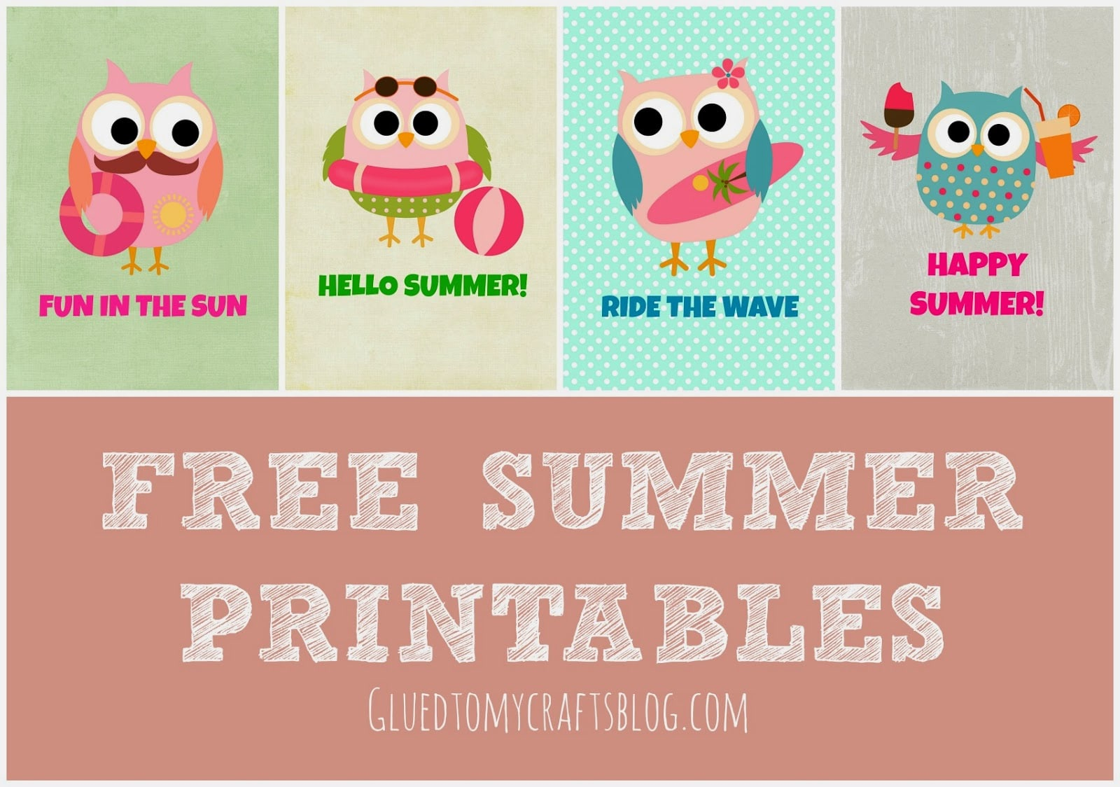It is a picture of Unforgettable Free Summer Printables
