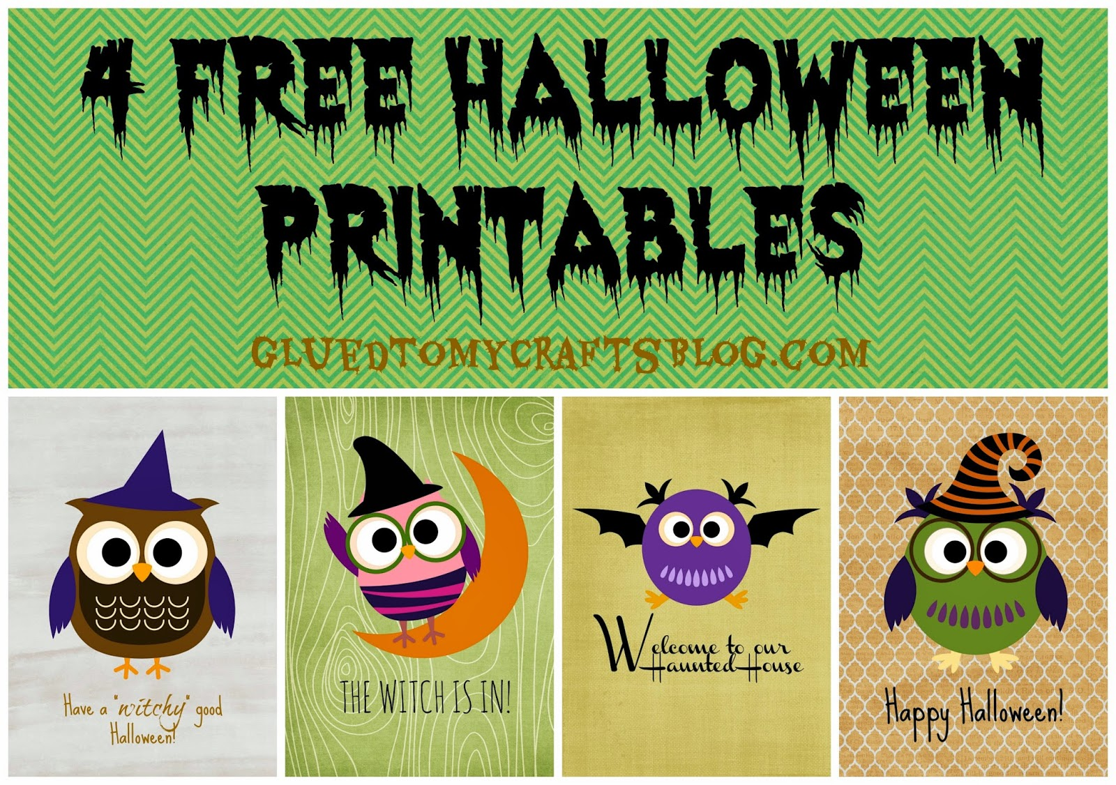 It is a picture of Invaluable Free Halloween Printable