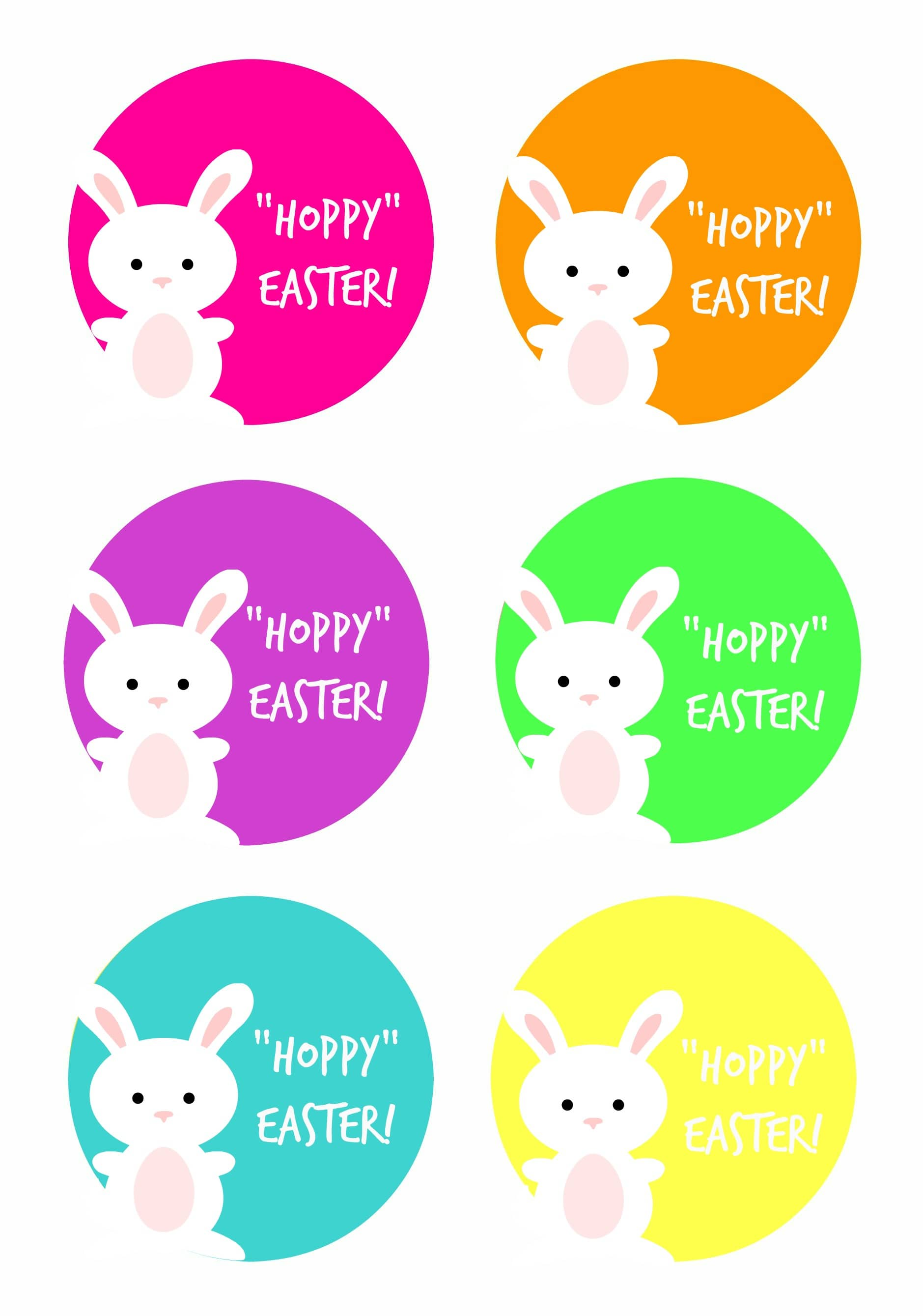 It is a photo of Nerdy Printable Easter Gift Tags