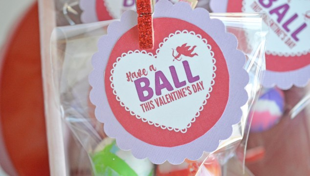 Have A Ball This Valentine's Day – Gift Idea w/Free Printable