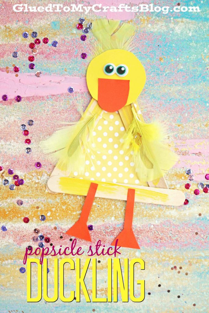 Popsicle Stick Duckling - Kid Craft