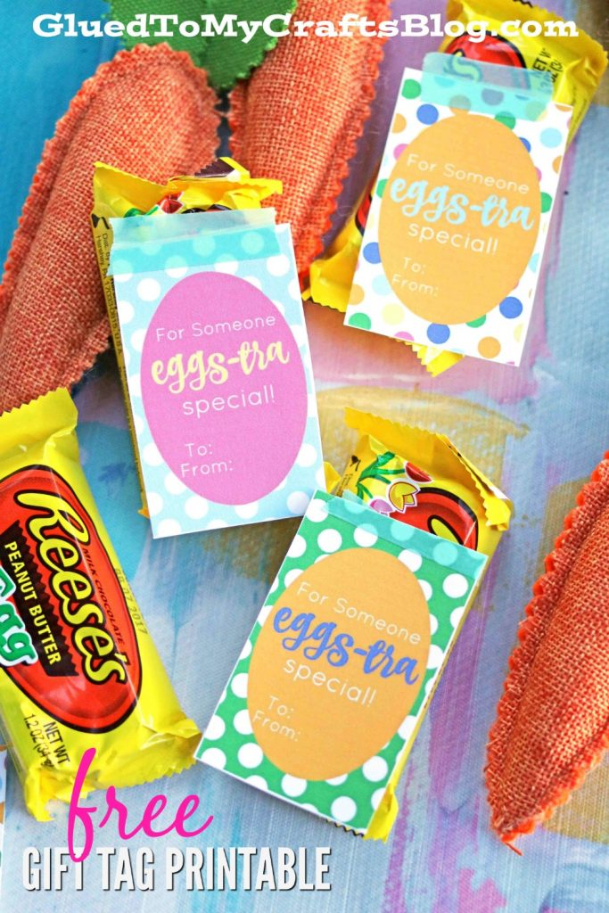 EGG-STRA Special - Gift Tag Printable